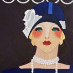 vogue pop art original by florida artist bonnie perlin