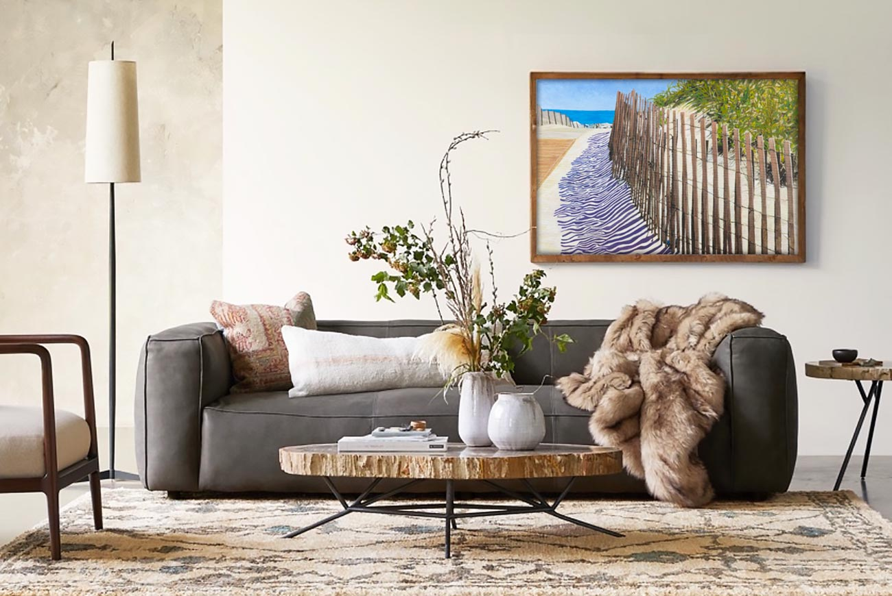 bonnie perlin original seascape painting in home decor