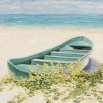 serenity beach seascape painting florida artist bonnie perlin